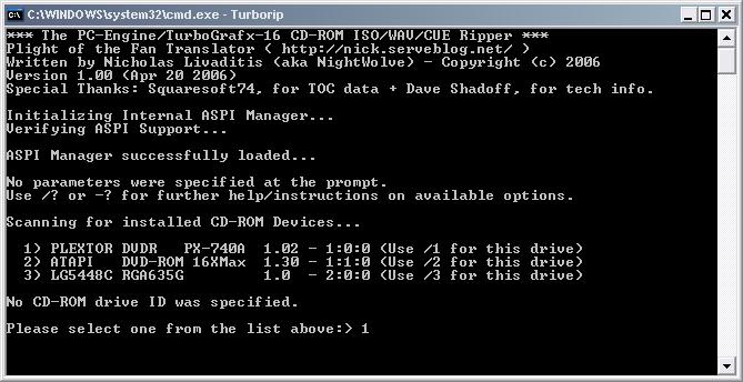 How to make an Iso/Wav/Cue set using TurboRip